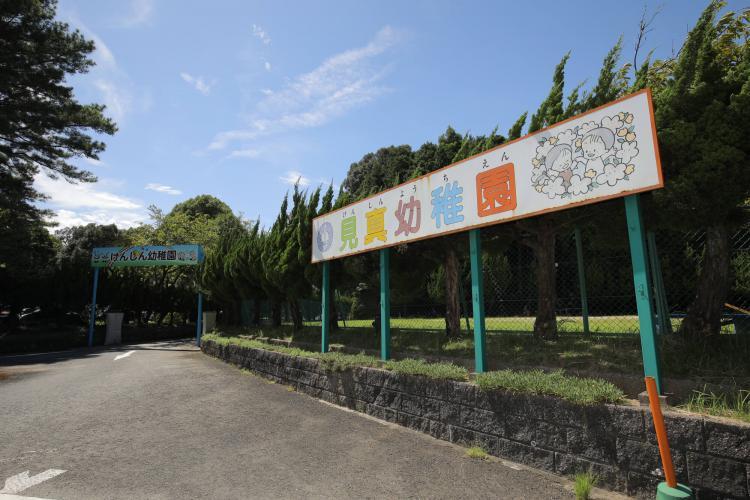 基山町見真幼稚園の表玄関