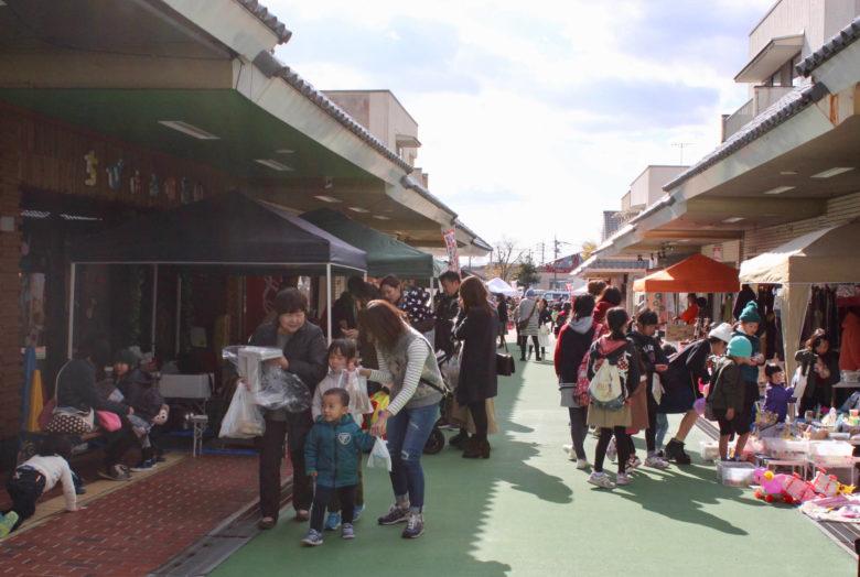 基山モール商店街のキヤマルシェ