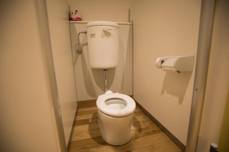 たんぽぽ保育園のトイレ