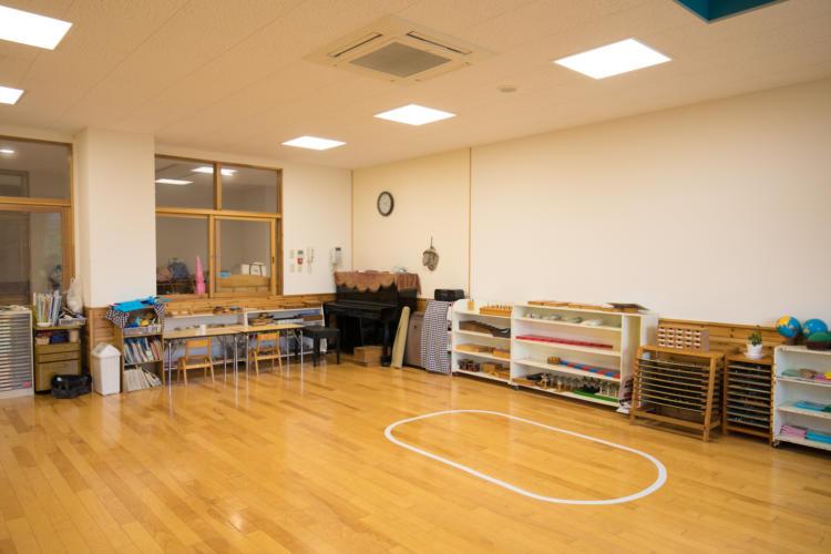 たんぽぽ保育園の教室の別角度