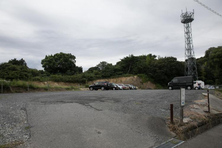 たんぽぽ保育園の駐車場