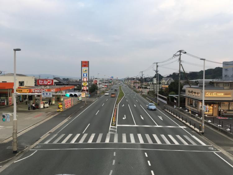 基山町長野北交差点