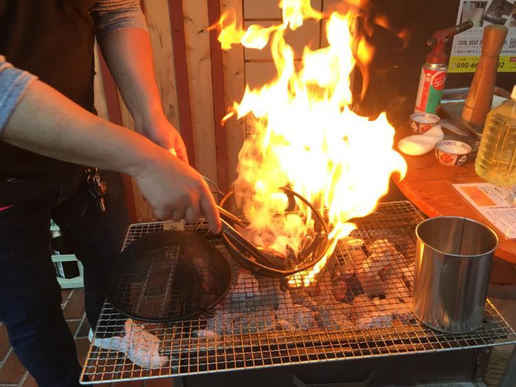 エミューの炭火焼