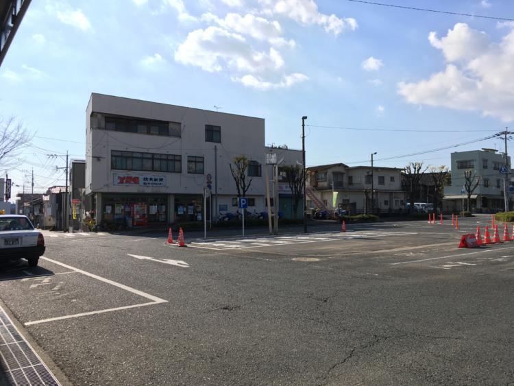 基山駅前ロータリー