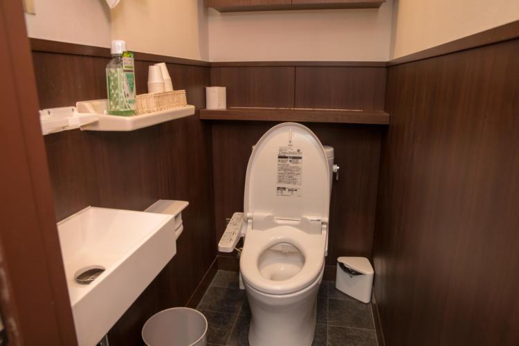 いきなりステーキのトイレ
