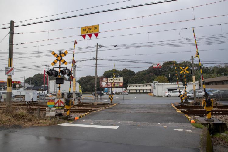 佐賀基山店に至る裏道