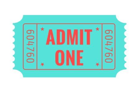 無料チケットのイメージ