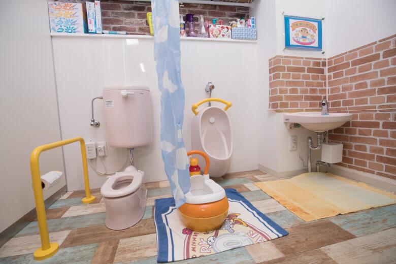 ちびはる保育園のトイレ