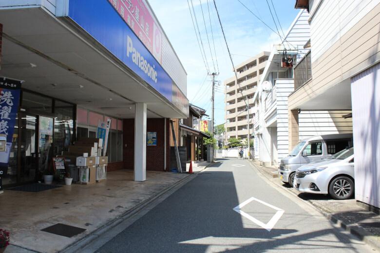 基山町の旧長崎街道