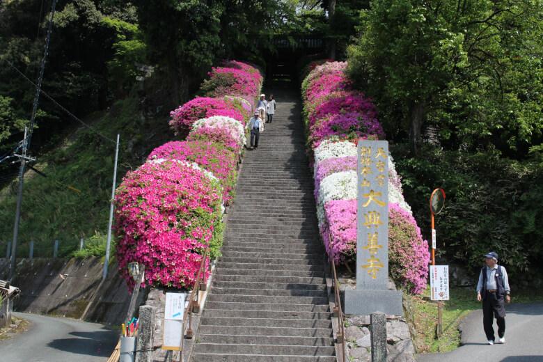 大興善寺の階段