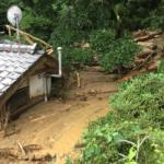 基山町丸林地区の被災状況