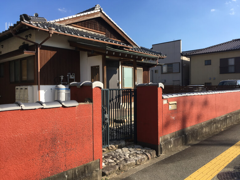 Japanese-style house, 塀(Hey),fence, tips hostel, saga, kiyama