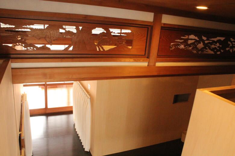 Japanese-style house, 欄間(Ranma),tips hostel, saga, kiyama