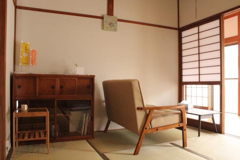 Japanese-style house, 畳(Tatami),障子(Shoji),tips hostel, saga, kiyama