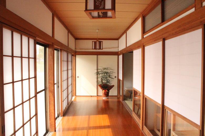 Japanese-style house, 縁側(Engawa),tips hostel, saga, kiyama
